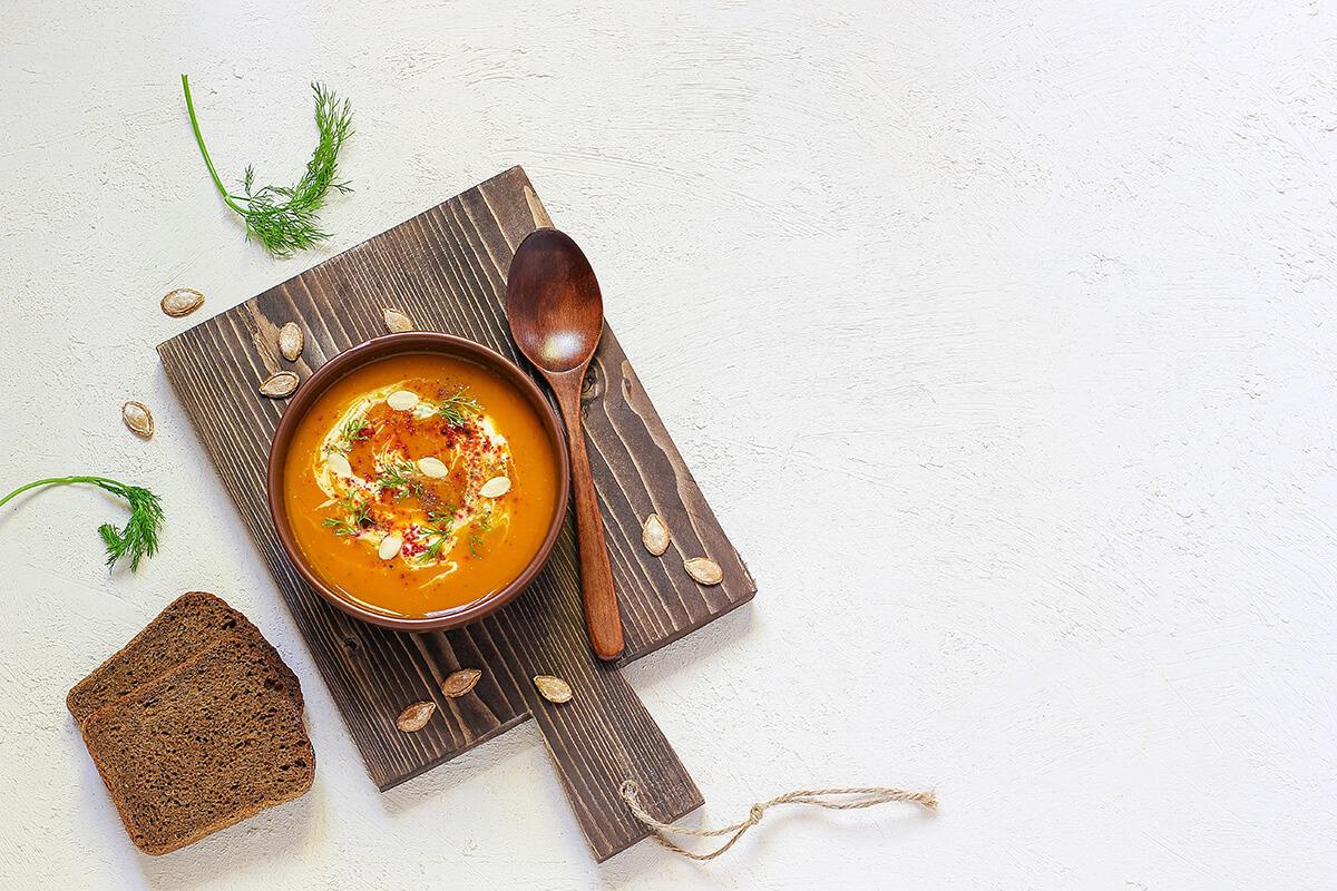 Zupa dyniowa - jaka dieta na jesień