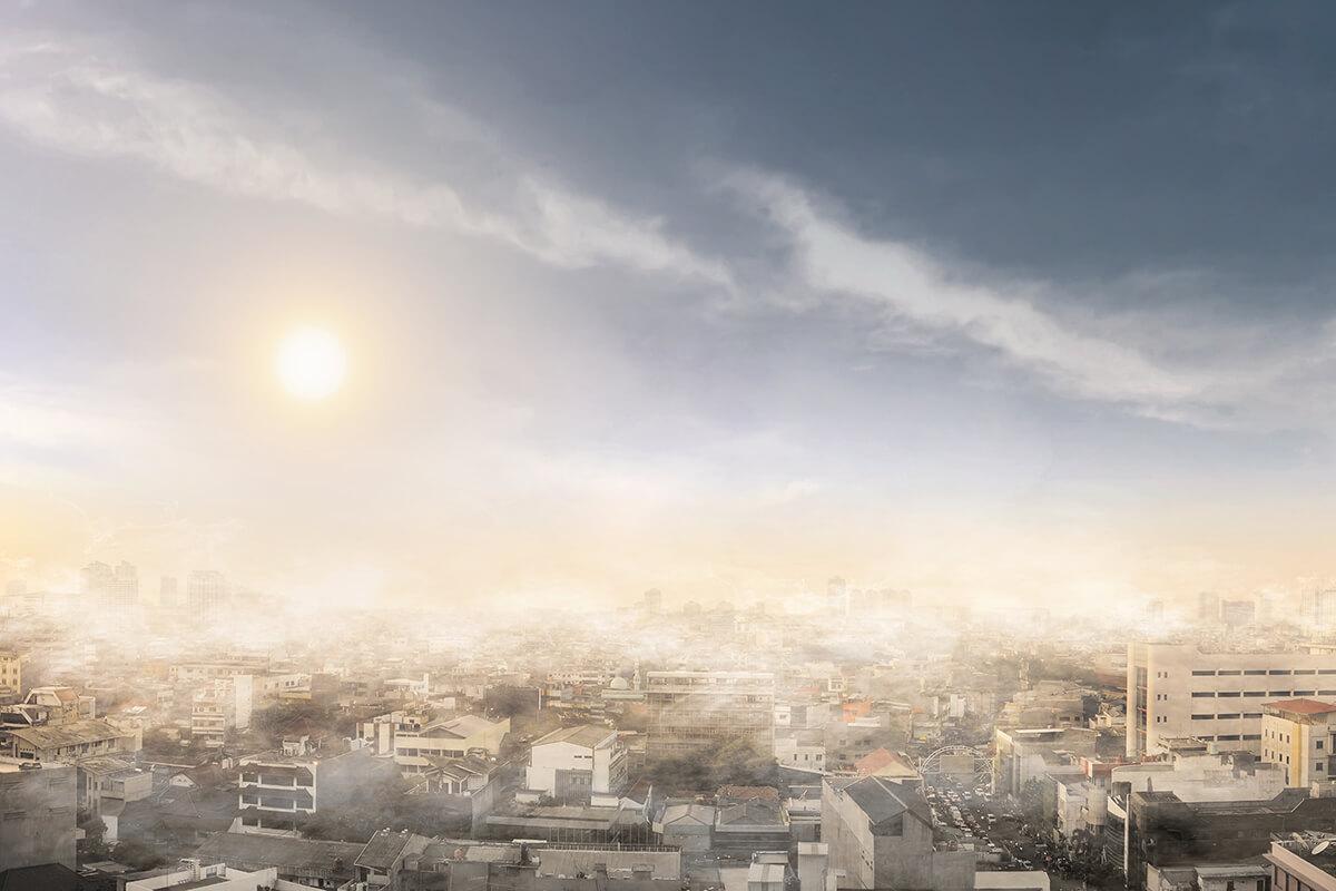 Smog nad miastem - jak sobie z nim radzić