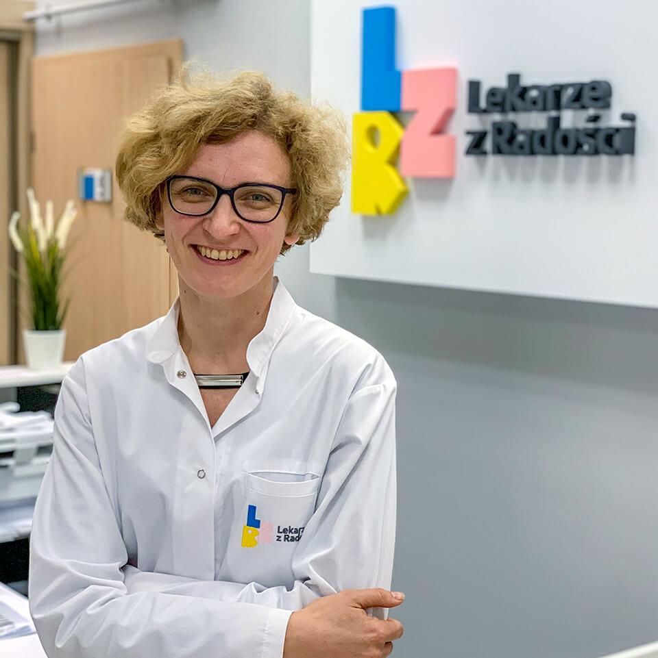 Dr Magdalena Ciołkowska - Diabetolog w Centrum Medycznym  Lekarze z Radości